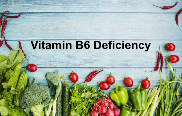 Vitamin B6 deficiency