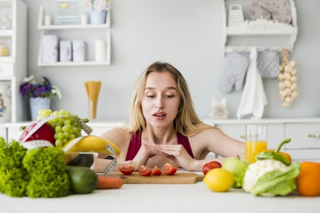 Eating healthy for clear skin instantly