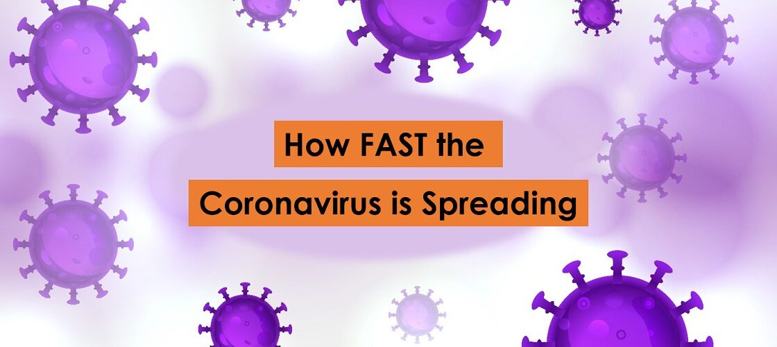 How Fast the Corona Virus spread in 1day