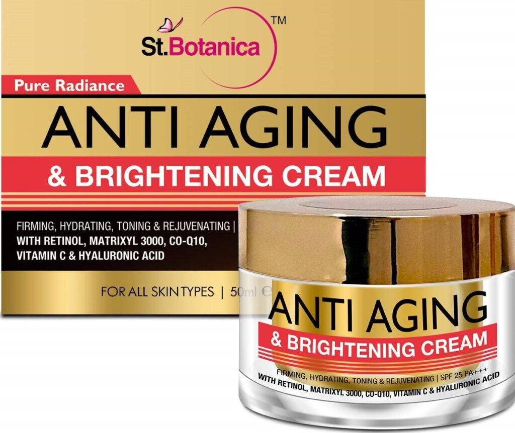 StBotanica Pure Radiance Anti-Aging & Face Brightening Cream