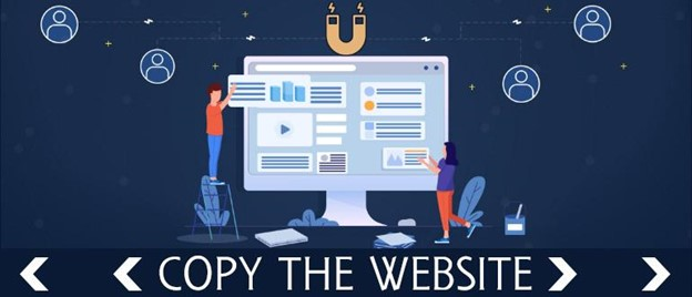 copy website for migration and porting