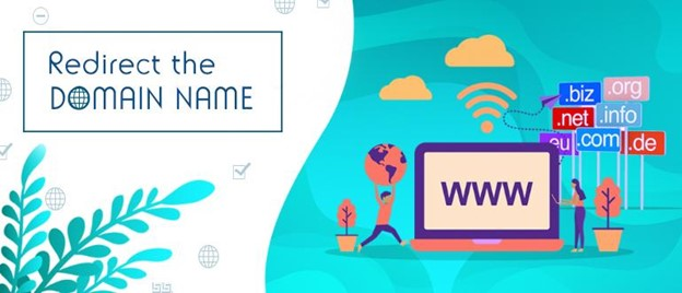 how to redirect domain name from nameserver