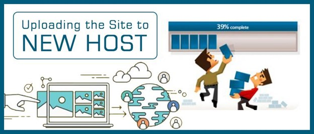 how to upload your site to new host
