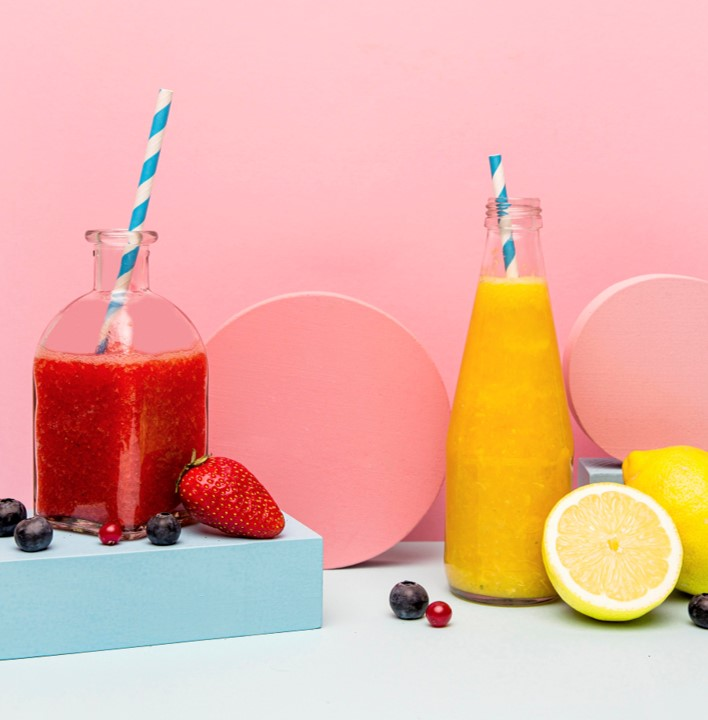 strawberry orange smoothie for skin